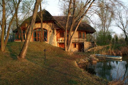 Seen in Ungarn See Teich Angelteich Fischgewässer
